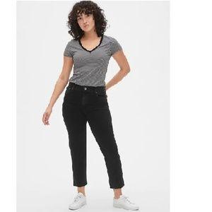 NWT Gap High Rise Cheeky Straight Jeans 18 c916